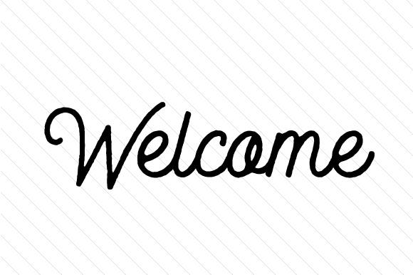 Welcome Doors Signs Craft Cut File By Creative Fabrica Crafts