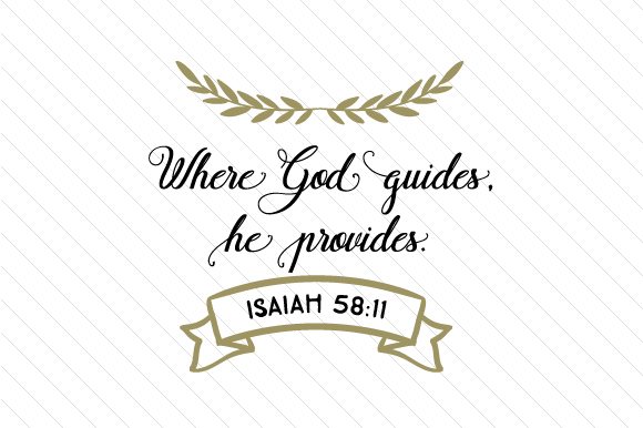 Download Free Where God Guides He Provides Svg Plotterdatei Von Creative for Cricut Explore, Silhouette and other cutting machines.