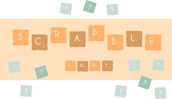 Print on Demand: The Scrabble Font Decorative Font By Little Big Bundle