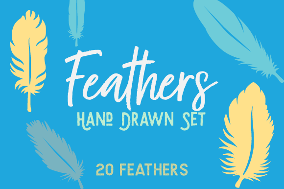 The Feathers Kit Kits & Sets Craft Cut File By Creative Fabrica Crafts