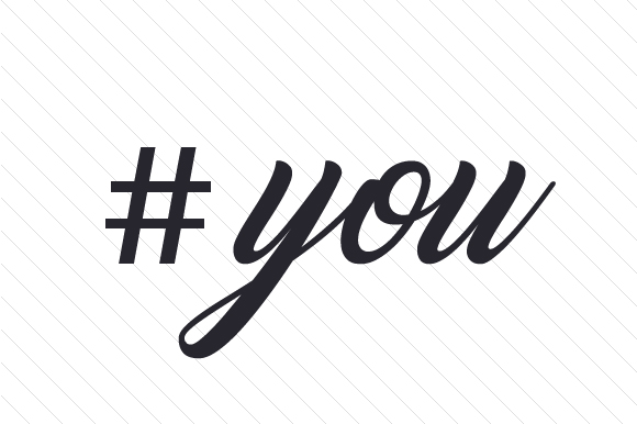#you Hashtag # Craft Cut File By Creative Fabrica Crafts