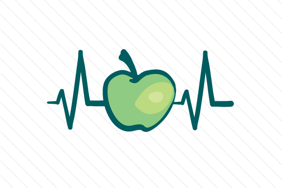 Download Free Apple Heartbeat Svg Cut File By Creative Fabrica Crafts for Cricut Explore, Silhouette and other cutting machines.