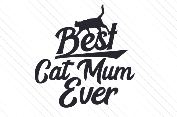 Download Free Best Cat Mum Ever Svg Cut File By Creative Fabrica Crafts for Cricut Explore, Silhouette and other cutting machines.