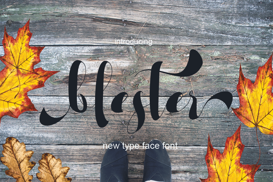 Print on Demand: Blester Script & Handwritten Font By Sinfa.co