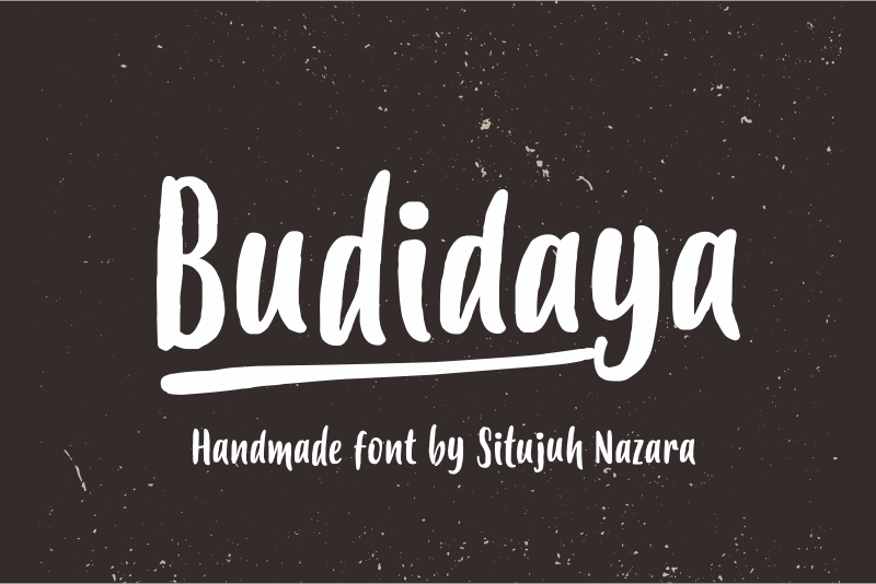 Print on Demand: Budidaya Script & Handwritten Font By Situjuh