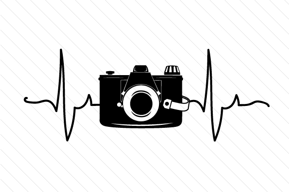 Download Free Camera In Heartbeat Svg Cut File By Creative Fabrica Crafts for Cricut Explore, Silhouette and other cutting machines.