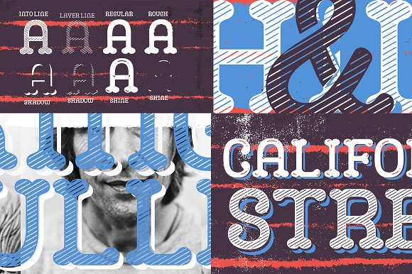 Print on Demand: Camo Display Font By Rodrigo Typo - Image 4