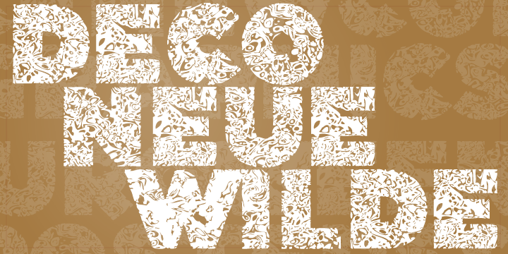 Print on Demand: Deco Neue Wilde Font By Good Gravy Type