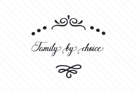 Family by Choice Adoption Craft Cut File By Creative Fabrica Crafts