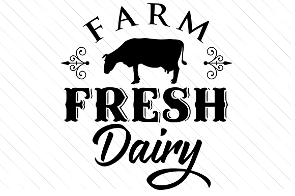 Farm Fresh Dairy Craft Design By Creative Fabrica Crafts