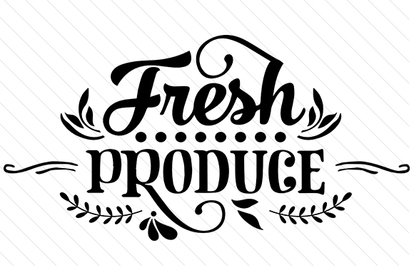 Fresh Produce Craft Design By Creative Fabrica Crafts