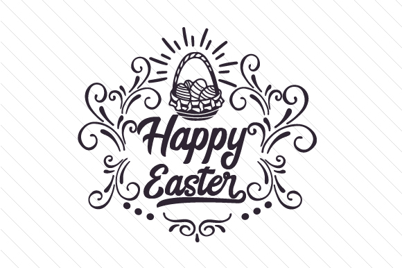 Happy Easter Craft Design By Creative Fabrica Freebies Image 2