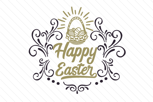 Happy Easter Craft Design By Creative Fabrica Freebies Image 1