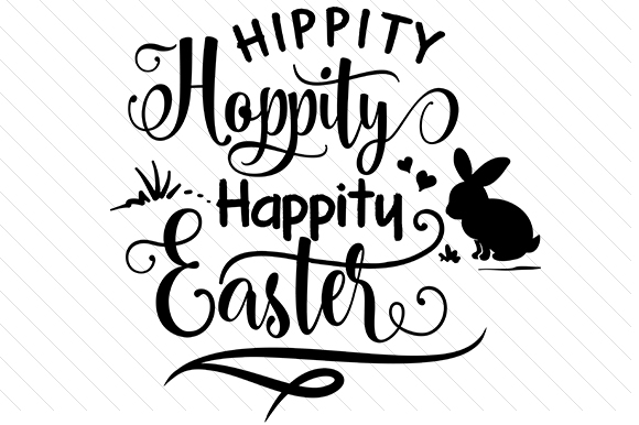 Hippity Hoppity Easter Craft Cut File By Creative Fabrica Crafts