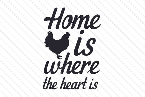 Home is Where the Heart is Craft Design By Creative Fabrica Crafts
