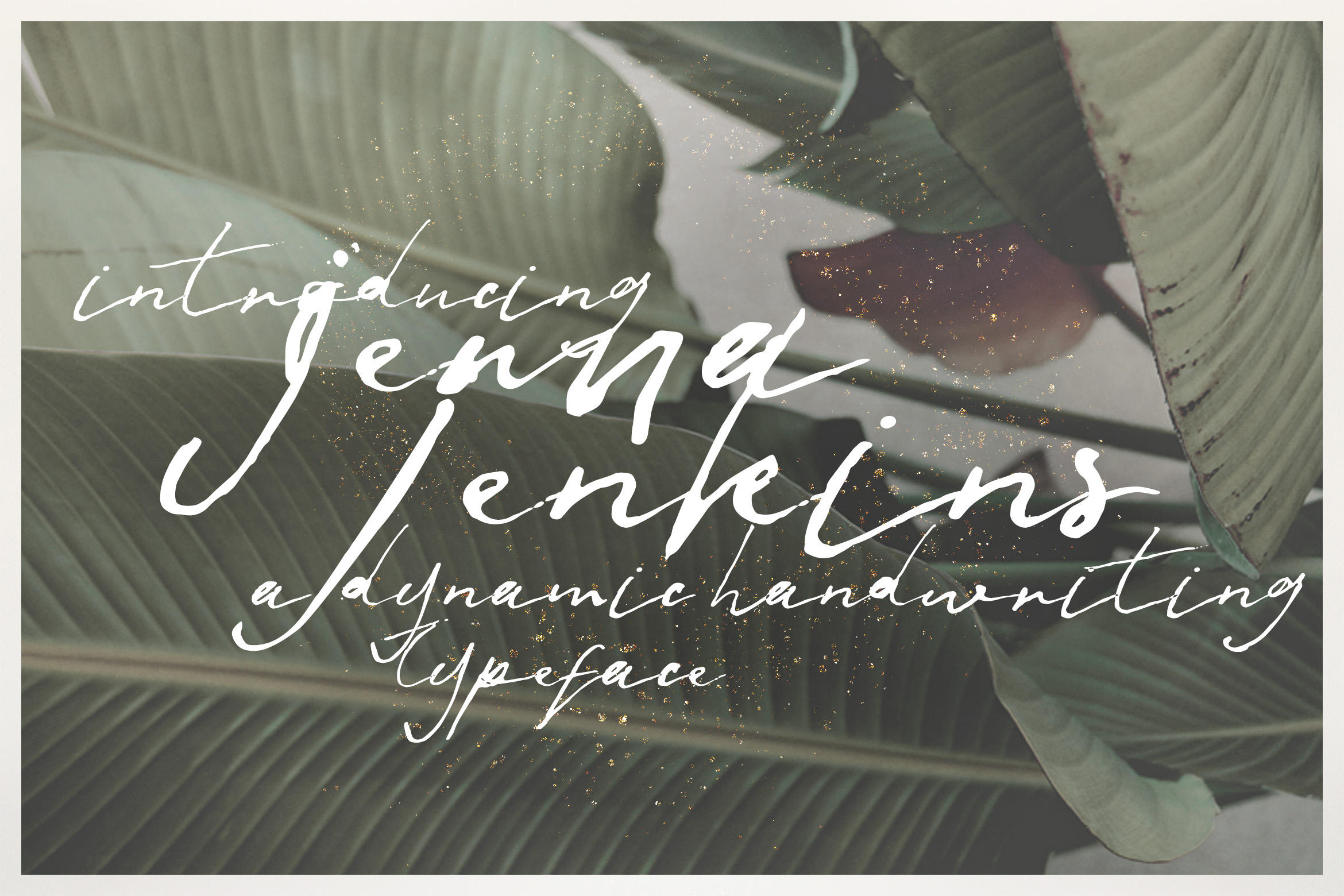 Print on Demand: Jenna Jenkins Script & Handwritten Font By Blue Robin Design Shop
