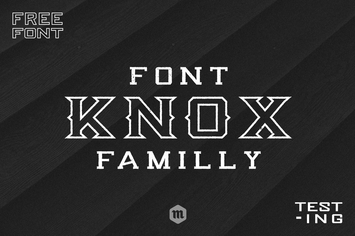 Print on Demand: Knox Font By Creative Fabrica Freebies