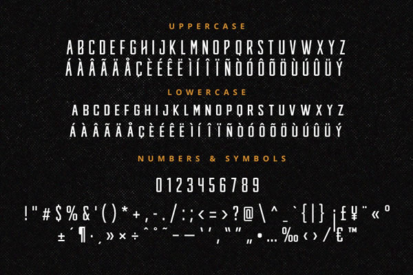 Print on Demand: Knucklehead Display Font By Headfonts - Image 7