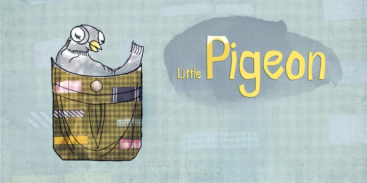 Print on Demand: Little Pigeon Font By Good Gravy Type