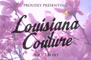 Louisiana Couture Script by Miglena Spasova