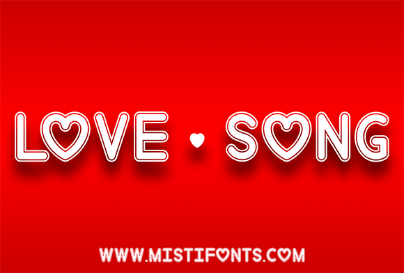 Love Song Font By Misti Image 1