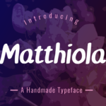 Matthiola by Seemly Fonts