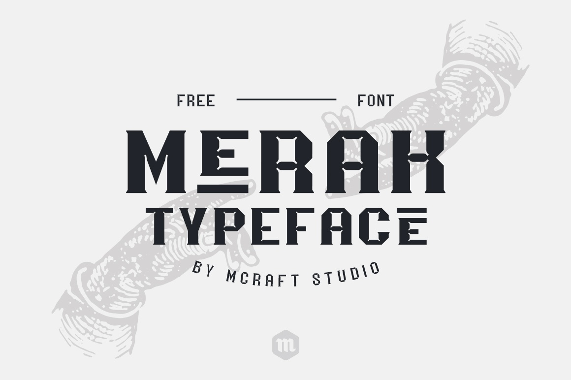 Print on Demand: Merak Font By Creative Fabrica Freebies