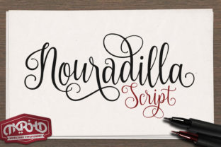 Nouradilla Script Free Version Font By Creative Fabrica Freebies