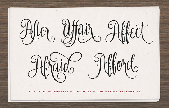 Print on Demand: Nouradilla Script Free Version Font By Creative Fabrica Freebies - Image 4