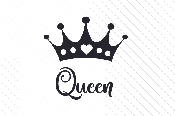Her King Svg His Queen Svg King And Queen Svg Svg Design: Queen SVG Cut File By Creative Fabrica Crafts