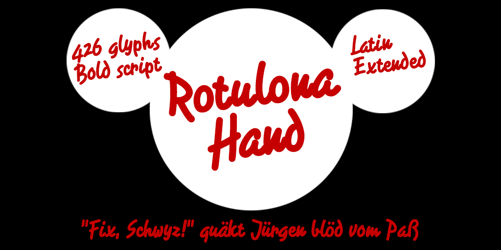 Download Free Rotulona Hand Font By Fernando Haro Creative Fabrica for Cricut Explore, Silhouette and other cutting machines.