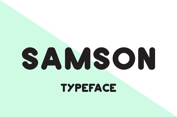 Print on Demand: Samson Sans Serif Font By Mike Hill