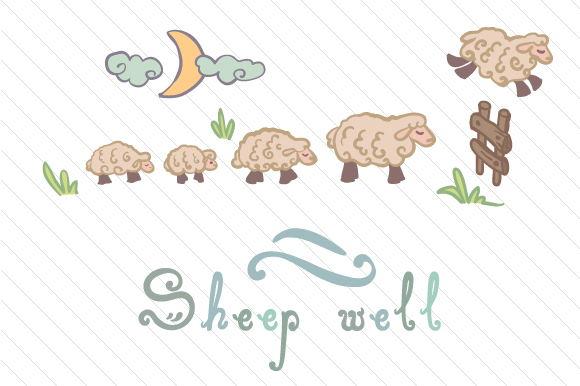 Sheep Well Baby Craft Cut File By Creative Fabrica Crafts