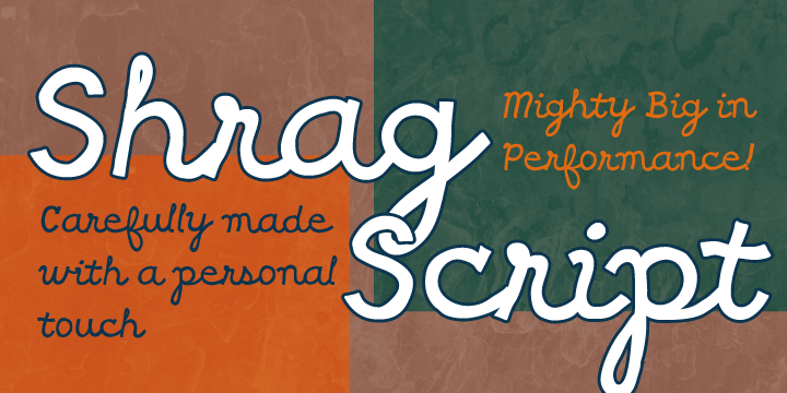 Print on Demand: Shrag Script Font By Good Gravy Type - Image 3