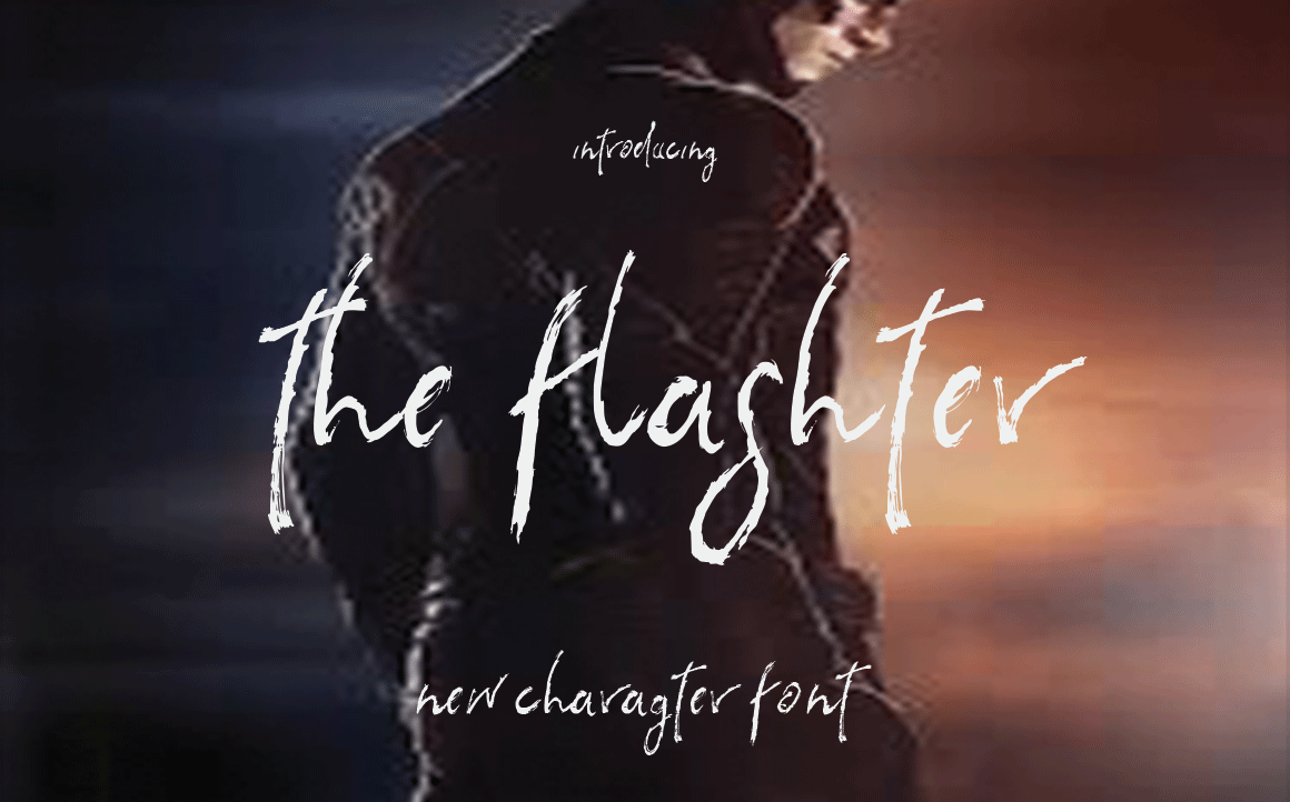 Print on Demand: The Flashter Script & Handwritten Font By Sinfa.co