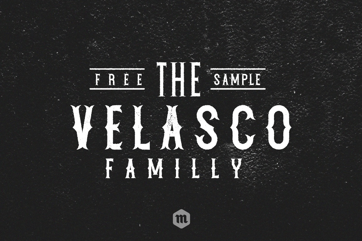 Print on Demand: Velasco Font By Creative Fabrica Freebies