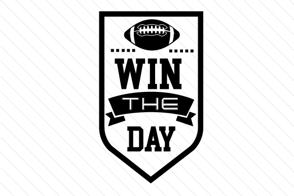 Win the Day Sports Craft Cut File By Creative Fabrica Crafts - Image 2