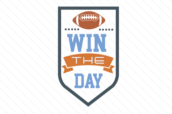 Win the Day Sports Craft Cut File By Creative Fabrica Crafts - Image 1