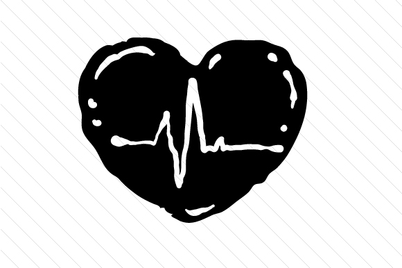 Download Free Heart In A Beat Svg Cut File By Creative Fabrica Crafts SVG Cut Files