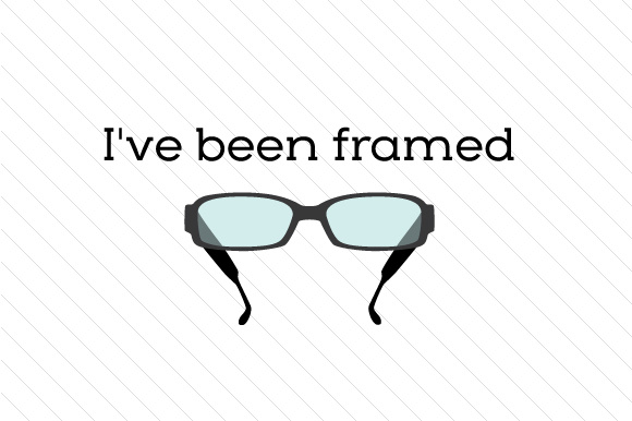 I\'ve been framed SVG Cut file by Creative Fabrica Crafts - Creative ...