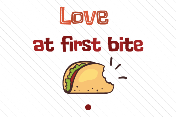 Download Free Love At First Bite Svg Cut File By Creative Fabrica Crafts for Cricut Explore, Silhouette and other cutting machines.