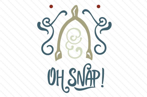 Download Free Oh Snap Wishbone Svg Cut File By Creative Fabrica Crafts for Cricut Explore, Silhouette and other cutting machines.