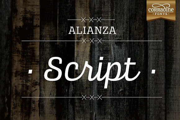 Print on Demand: Alianza Family Slab Serif Font By Corradine Fonts