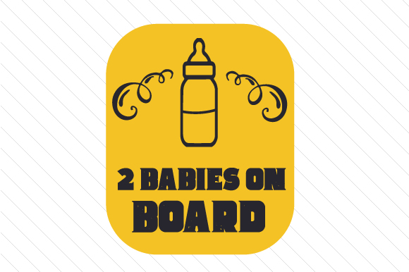 Download Free Baby Babies On Board Svg Cut File By Creative Fabrica Crafts for Cricut Explore, Silhouette and other cutting machines.
