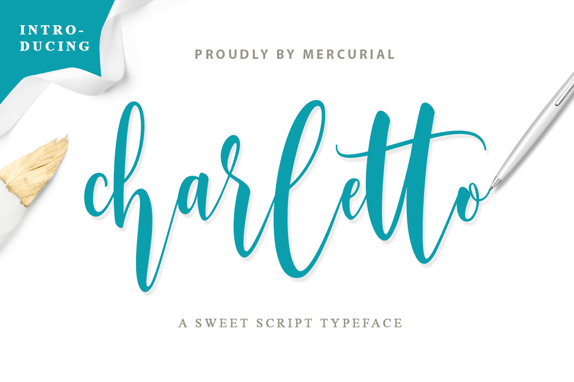 Charletto Font By Mercurial