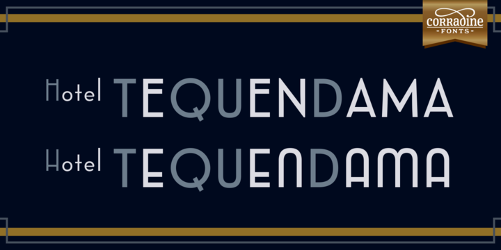 Emblema Family Font By Corradine Fonts Image 5