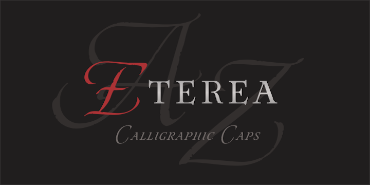 Eterea Family Font By Corradine Fonts Image 1