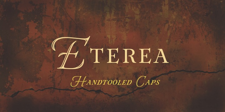 Eterea Family Font By Corradine Fonts Image 2