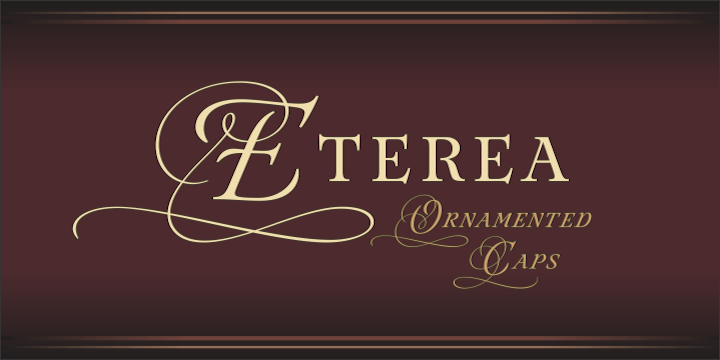 Eterea Family Font By Corradine Fonts Image 3