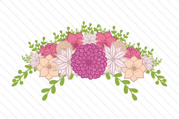 Floral Swag Svg Cut File By Creative Fabrica Crafts Creative